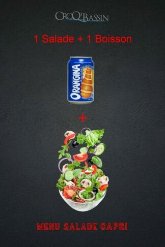 1 menu salade capri